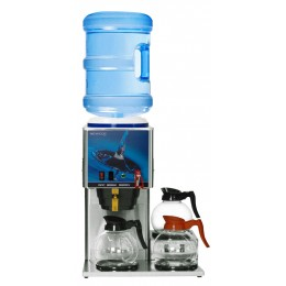 Newco KB-3F Bottled Water Brewers 3 Lower Inline Glass Bowl w/Faucet