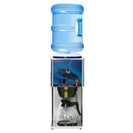 Newco KB-1F Bottled Water Brewers 1 Lower Inline Glass Bowl w/Faucet