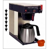 Newco Automatic Telescoping Column Brewer w/Faucet 1.9L - 2.0L