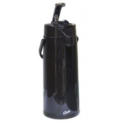 Curtis ThermoPro Airpot 2.2 L Glass Lined Black 6/CS