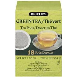 Bigelow 07906 Green Tea Pods 108/CS