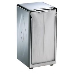 Table Top Napkin Dispenser Tall Fold Stainless Steel