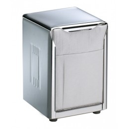 Table Top Napkin Dispenser Low Fold Stainless Steel