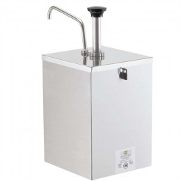 Server 67590 Stainless Steel #10 Can Pump in Lockable Stand