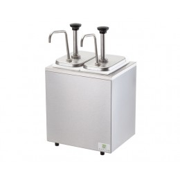 Server 82910 Non-Insulated Rail w/ 2 Stainless Steel Pumps