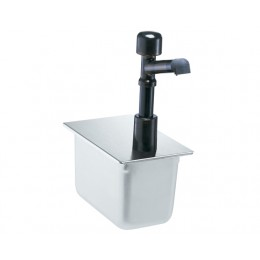 Server 1/4 Size Steam Table Pan Solution Pump