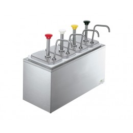 Server 83700 Serving Bar w/ Stainless Steel Pumps