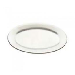 Tomlinson 1006360 Oval Dinner Platter 7 x 10 Burnished Finish 24/CS