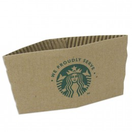 Starbucks 11020575 We Proudly Serve Hot Cup Sleeves, 1380 Total