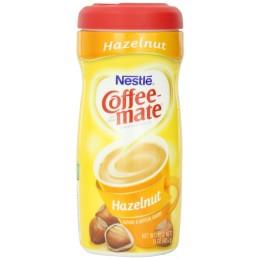 Coffee Mate Powder Creamer Canister Hazelnut, 15 oz ea. 12 Total