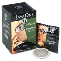 Java One Colombian Decaf Coffee Pods 14 Pods per Box/84 Pods Total