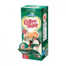 Coffee Mate Irish Cream Liquid Creamer .38oz ea 4 box of 50 Creamers