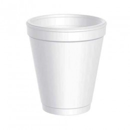 Dart 8J8 8 oz White Foam Cup, 1000 Total