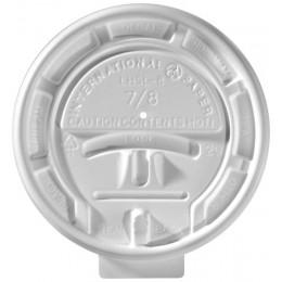 International Paper 6-8 oz Hot Cup Flat Lock Lid, 2000 Lids Total