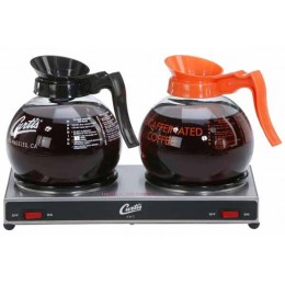 Curtis Decanter Warmer Low Profile 2 Station